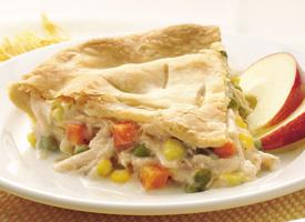 Creamy Classic Chicken Pot Pie - Easy Recipe for Chicken Pot Pie ...